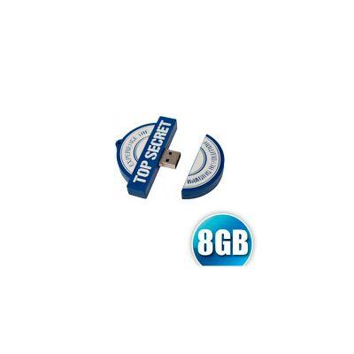 Energia Brindes - Pen drive emborrachado. Capacidade de 8GB, desenvolvemos o seu projeto em 2D ou 3D