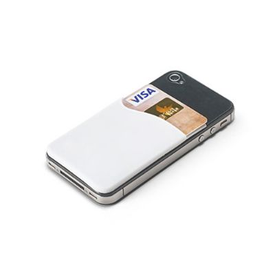 Energia Brindes - Porta-cartões para Smartphone personalizado.
