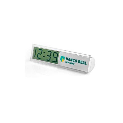energia-brindes - Relógio de mesa personalizado.