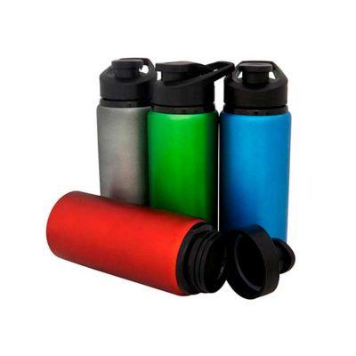 Energia Brindes - Squeeze personalizado para brinde. Com capacidade de 600 ml e material em alumínio essa garrafa squeeze está disponível em cores diversas.