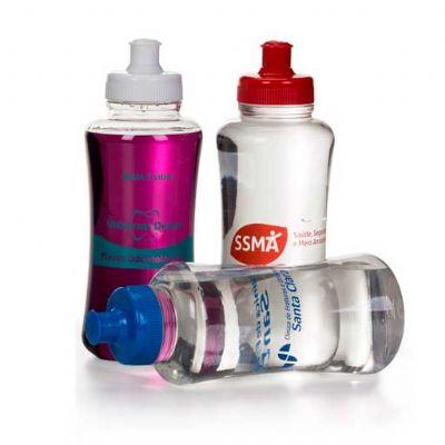 Energia Brindes - Squeeze Plástico com Filtro Personalizado | Squeeze personalizado. Ecológico vem com um filtro que garante maior pureza à água.