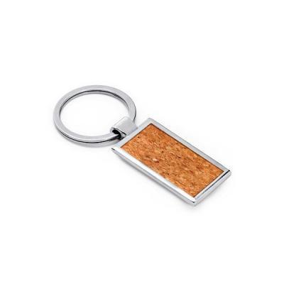 energia-brindes - Chaveiro de Metal e Cortiça para Brindes