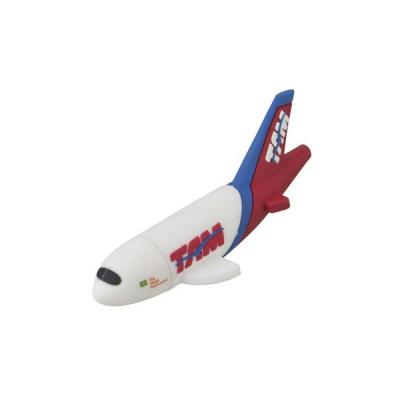 Energia Brindes - Pen drive Emborrachado Avião 3D
