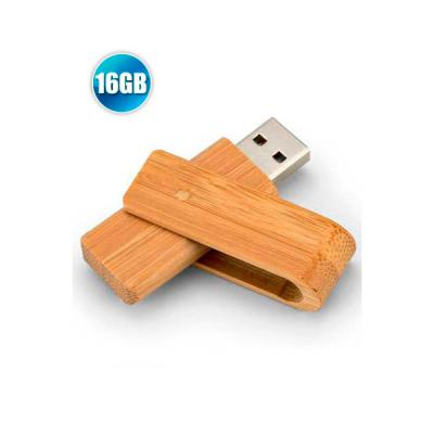Energia Brindes - Pen drive 16GB Giratório Ecológico Personalizado