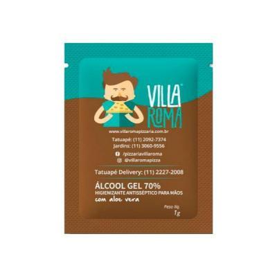 Energia Brindes - Sachê de Álcool em gel Personalizado
