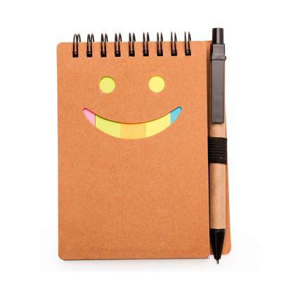 Make Brazil - Bloco de anotação ecológico com caneta de papelão
