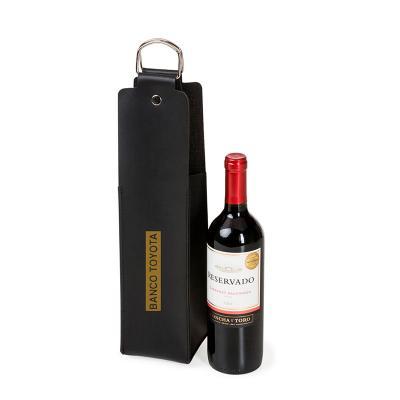 Make Brazil - Estojo para vinho em couro sintético Bidins