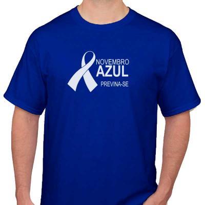 Make Brazil - Camiseta novembro azul personalizada