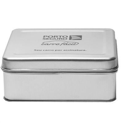 Make Brazil - Caixa metálica com diversas opções de formatos e tamanhos.