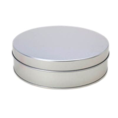 Make Brazil - Caixa metálica redonda.