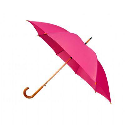 BTM Brindes - Guarda chuva com cabo de madeira
