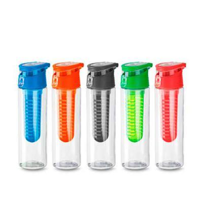 BTM Brindes - Squeeze de plástico com filtro e tampa com alça  Capacidade 750 ml  Medidas: 25 x 7  Peso do produto: 165Gr  Qtde por Caixa: 60pçs / Medidas da Caixa:...