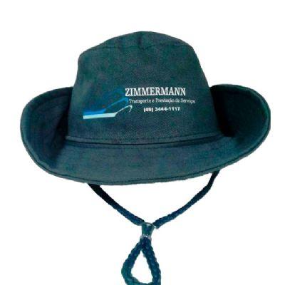 BTM Brindes - Chapéu de brim
