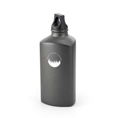 BTM Brindes - Squeeze. Alumínio. Com tampa em PP. Capacidade: 600 ml. Food grade. Caixa branca 94654 vendida opcionalmente. Ø75 x 158 mm