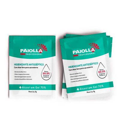 Park Brindes - Sachê de álcool gel antisséptico