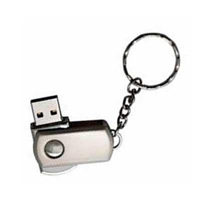 Park Brindes - Pen Drive 4GB. Medidas para gravação: 3,5cm x 1,8cm Tamanho total: 9,5cm x 1,8cm Peso do produto: 27 g
