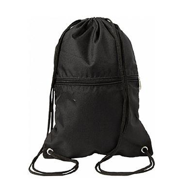 Park Brindes - Mochila saco em nylon impermeável com bolso frontal.