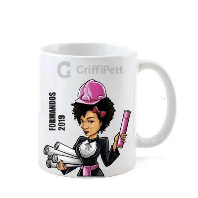 GriffiPett - Caricatura personalizada na caneca cerâmica