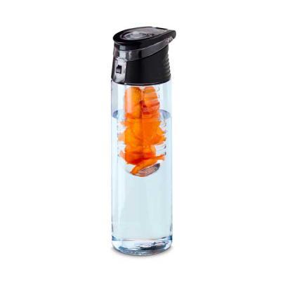GriffiPett - GP629: Squeeze. AS e PP. Com infusor de frutas. Capacidade: 740 ml. Food grade. ø70 x 247 mm