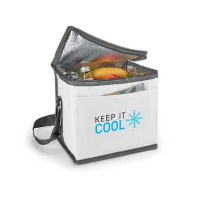 GriffiPett - Bolsa térmica de 9 litros. Material: nylon 600D. Com alça ajustável em webbing e bolso frontal. Tamanho: 240 x 220 x 170 mm. Cores: branco, vermelho,...
