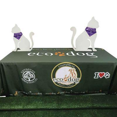 GriffiPett - Toalha de mesa personalizada confecciona em tecido de poliéster. Imagem em alta definição e excelente resultado para cores vivas. Para orçamento infor...