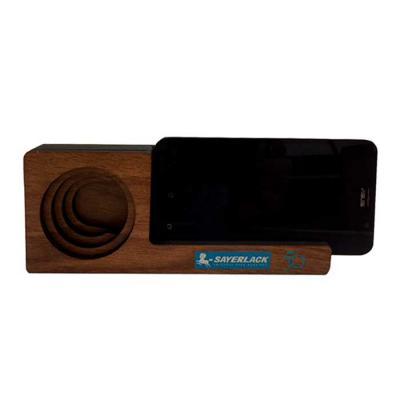 Santa Ana Design - Amplificador Acústico personalizado de Madeira para celulares. Amplifica o som do seu celular utilizando apenas a estrutura oca sem nenhum plugue. Um...