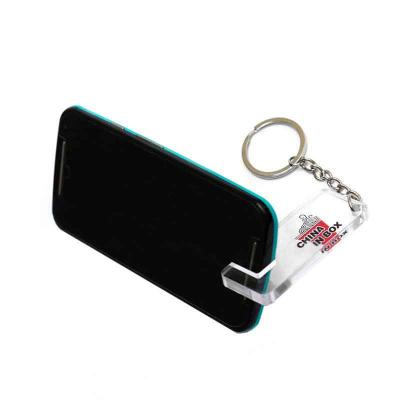 Santa Ana Design - Chaveiro porta celular em acrílico