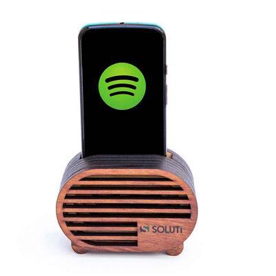 Santa Ana Design - Caixa Acústica Personalizada ECO-RETRO Amplificadora para Celular