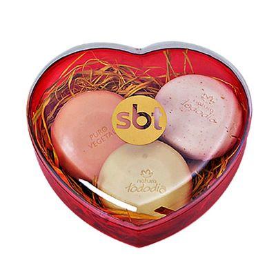 Santa Ana Design - Embalagem, formato coração.