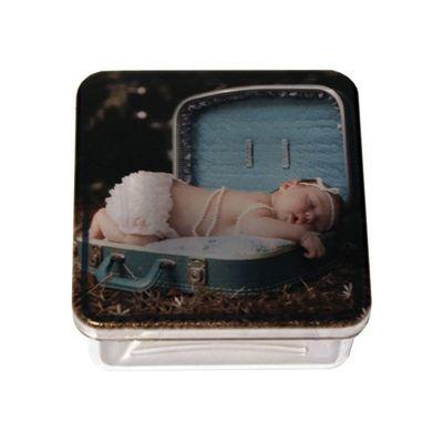 Santa Ana Design - Caixa personalizada em cristal.