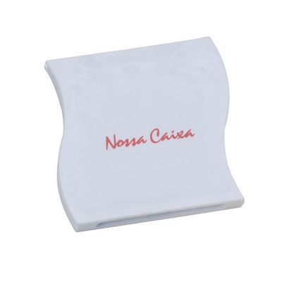 Santa Ana Design - Espelho de bolsa personalizado.