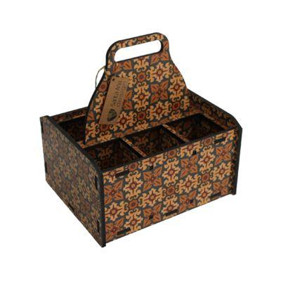 Santa Ana Design - Caixa de madeira personalizada.