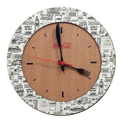 Santa Ana Design - Relógio Duo de parede ecológico