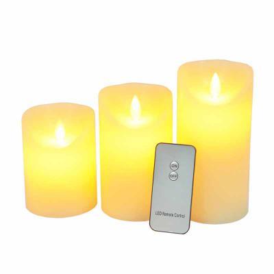 Hutz - Conjunto 3 Velas LED Parafina