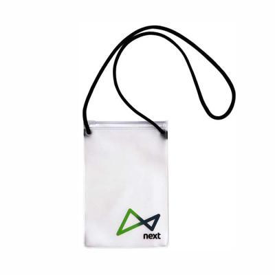 Megga Promo - Produzido em PVC Sarja Fosco ou Cristal Transparente, Zip Lock, Cursor Plástico, Cordão de Nylon.