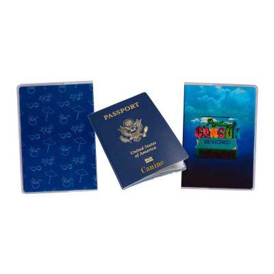 megga-promo - Porta Passaporte, Capa para Passaporte