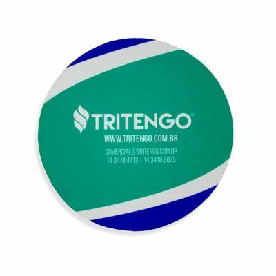 Tritengo - Mouse Pad Redondo em Neoprene personalizado