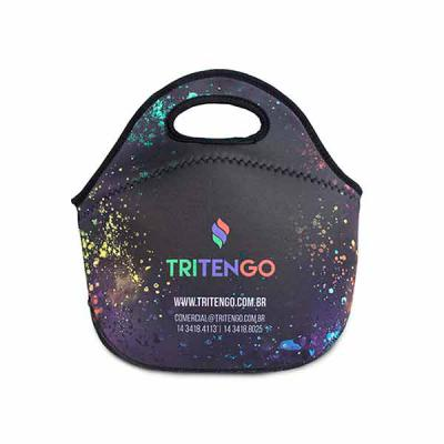 Tritengo - Bolsa Lancheira Térmica M2 em Neoprene Personalizada