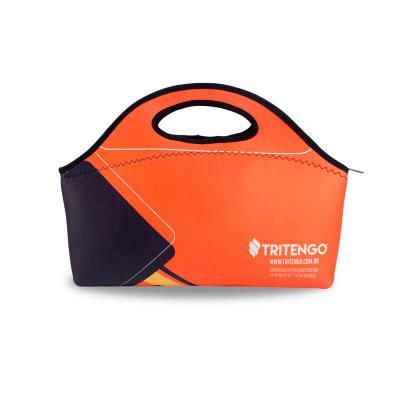 Tritengo - Lancheira Maleta Térmica em Neoprene Personalizada para Brinde Corporativo