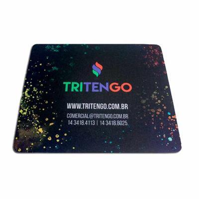 Tritengo - Mouse pad personalizado fabricado em neoprene de ótima qualidade! Personalizado com as cores, logo, e identidade de sua marca ou estampas a sua escolh...
