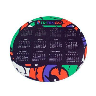 Tritengo - Mouse Pad Redondo 25cm Personalizado