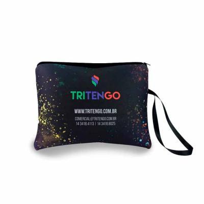 Tritengo - Nécessaire de neoprene com fechamento em zíper