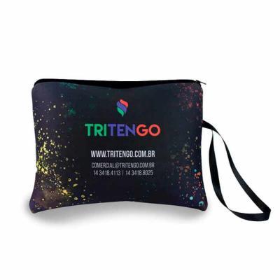 Tritengo - Necessaire Porta Biquíni em Neoprene grande personalizada