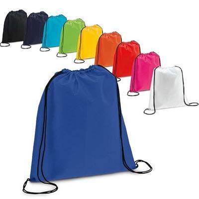 JBX Brindes - Mochila saco confeccionado em nylon