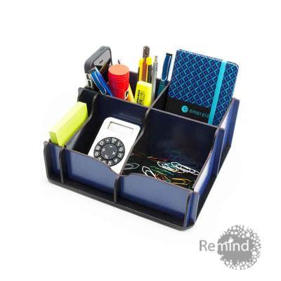 Remind Brindes Inteligentes - Porta Objetos Montável - Square Personalizado