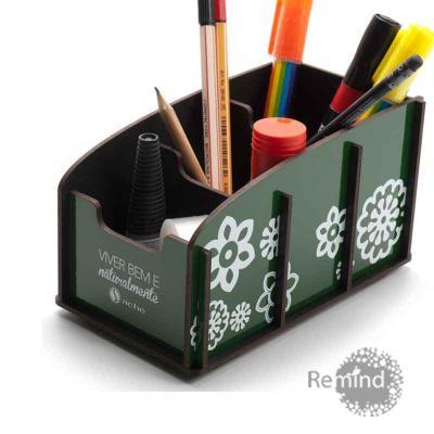 Remind Brindes Inteligentes - Porta Objetos Montável - Wagon B Personalizado