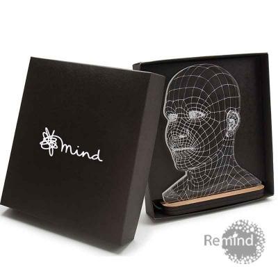 Remind Brindes Inteligentes - Totem de Acrílico Iluminado com LED - Head
