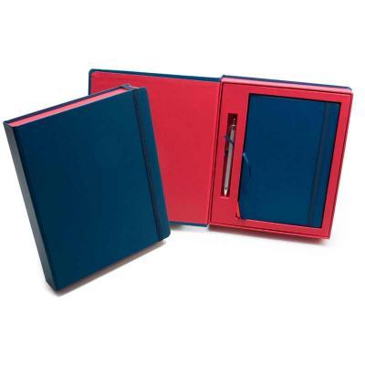 remind - Kit VIP Frankfurt - 2 Cadernetas em caixa cartonada com caneta metálica