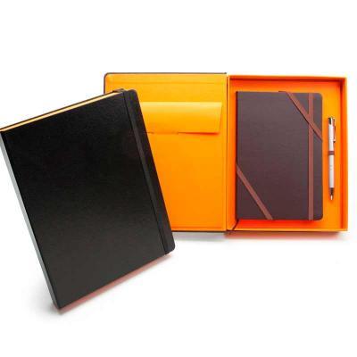 remind - Kit VIP Barcelone - Caderneta tipo Italiana em caixa cartonada com caneta metálica