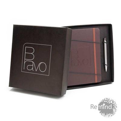 remind - Kit Caderneta Italiana Tipo Moleskine Brinde